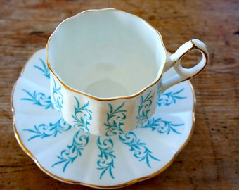 Elizabethan Cup and Saucer by Taylor & Kent