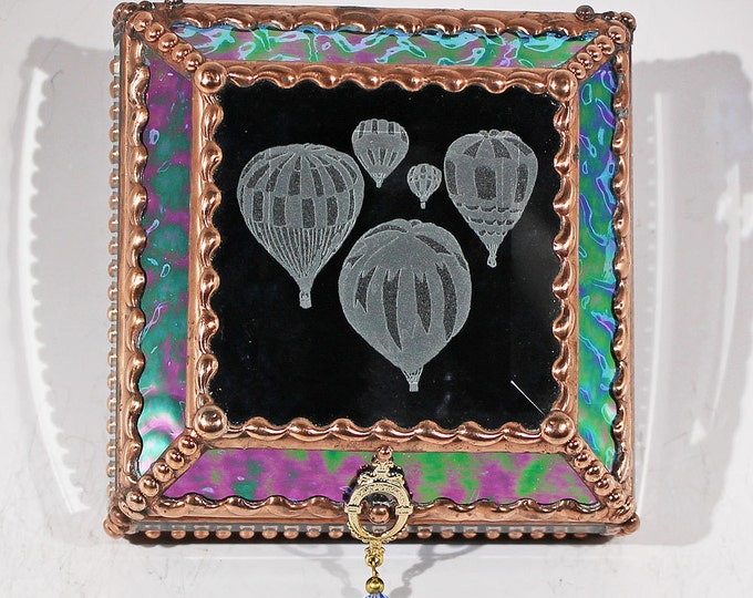 Hot Air Balloons 4X4 COPPER