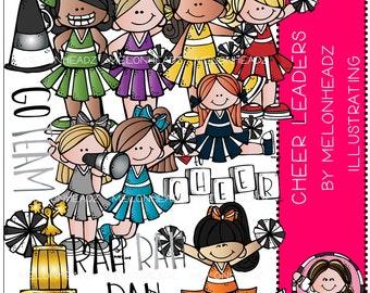 Cheerleader clip art - COMBO PACK