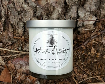 Famous in the Forest-8oz. Soy Candle