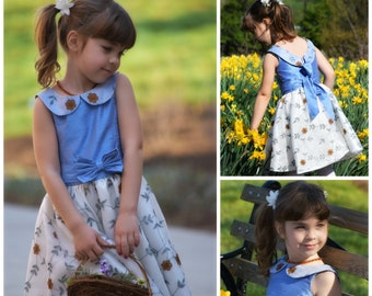 Skater Dress PDF Sewing Pattern - The Vivienne