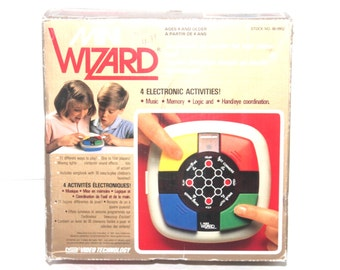 Vintage 1987 Wizard Electronic Game, By Vtech, Antique Alchemy
