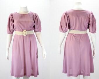 XXL Dress - Lilac Dress