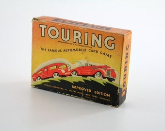 1937 Touring Card Game - The Famous Automobile Game