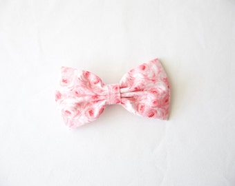 Pink Roses Bow