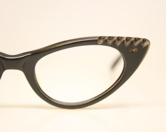 Small Cat Eye Eyeglasses Vintage Eyewear Retro Glasses Cat Eye Frames
