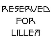 RESERVED FOR LILLEA - Clock Movements