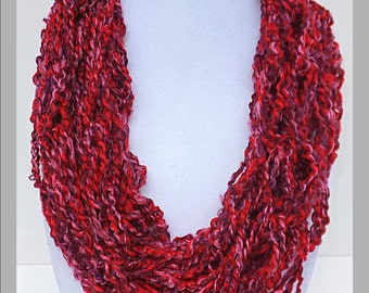 BE MINE Valentine's Day Collection Infinity Scarves - Sweet Tart