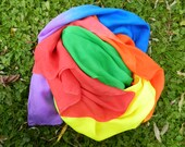 Rainbow Silk Canopy Play Silk Large