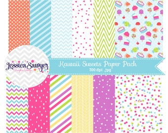 INSTANT DOWNLOAD, Rainbow digital paper or backgrounds for commercial use or personal use