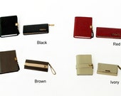 1/6 Scale Dollhouse Miniature handmade notebook & wallet set
