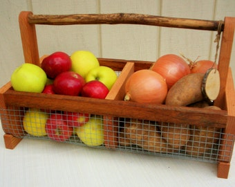 Storage Basket  Bin   Picnic Basket, Hod Basket, Vegetable Basket  Garden  Basket