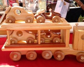 Peewee Tough Toy Car Hauler