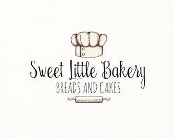 bakery logo baking bake cooking hand drawn sketch - Logo Design #708