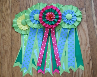 Award Ribbon Pattern