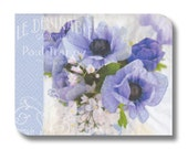 Floral paper napkin for decoupage x 1 Le Desirable . No 1277