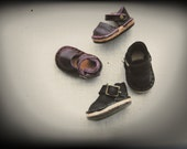 Shoes handmade, hand sewn and real leather for blythe and similar dolls