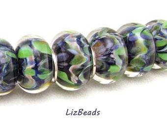 SRA Handcrafted Borosilicate Artisan Lampwork Bead Set - WIND BROOK