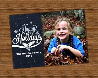 FREE SHIPPING - Photo Christmas Cards, Holiday Photo Card, Photo Holiday Card, Christmas Card, Holiday Card, Photo Holiday Card