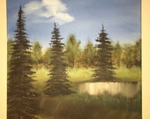 PEACE OF MIND original one of a kind landscape oil painting art
