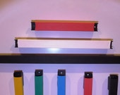 Magnetic Tool Bar Holders.   For one 6 inch  or 12 inch or  18 inch bar, color of your choice .