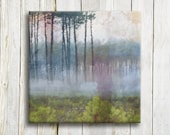 Landscape art printed on canvas - housewarming gift idea