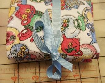 Tea Wallet made cotton fabric