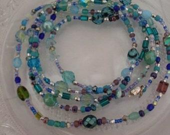 Seaside Jewels Long Wrap Bracelet Necklace  Beaconhillcollect Jewelry  We Ship Internationally