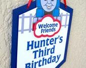 Thomas The Train - Door sign