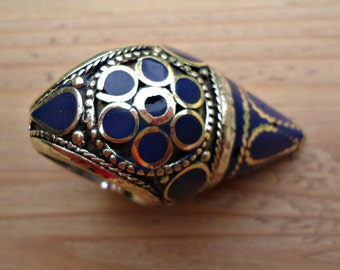 Novelty ring- Statement ring- Tribal banjara ring- Kuchi ring- Ethnic ring- Gypsy ring- warrior women ring- Dome ring- Mosaic inlay