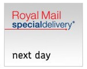 UK ONLY Royal Mail Next Day Delivery by 1PM