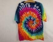 tie dye shirt size L