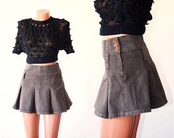Vintage DENIM Skirt, size M-L / 36 - 38 /, SALE