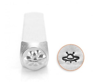 UFO Metal Design Stamp Impressart Metal Jewelry Punch for jewelry blanks