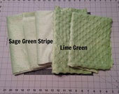 Minky Remnant Box: Green