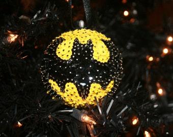 Batman Sequin Ornament