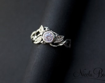 Sterling Silver Fairytale Vine Ring UK J U.S 5