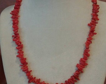 Red Coral Cupolini Necklace
