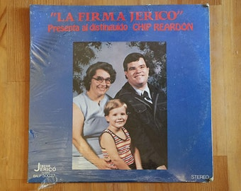 "CHIP REARDON ""La Firma Jerico""  Presenta al Distinguido – Vintage Vinyl Record (1979)"