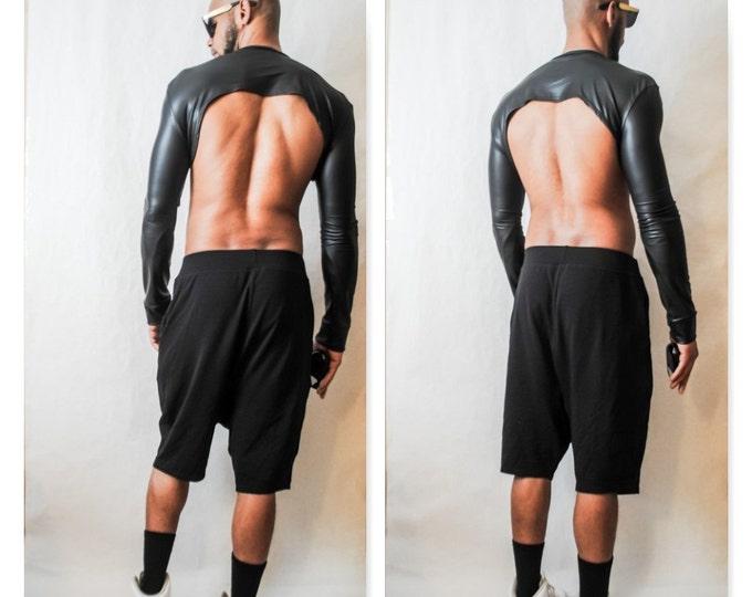 Drop Crotch Jersey Short