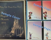 Personalized Disney World Character Autograph Book / Photo Book / Journal