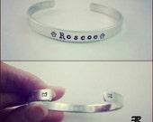 Dog Mama Bracelet, Pet Parent, Dog Mom, Dog Bracelet, Dog Lover, Custom Bracelet, Handstamped Cuff Bracelet, Aluminum Cuff Bracelet