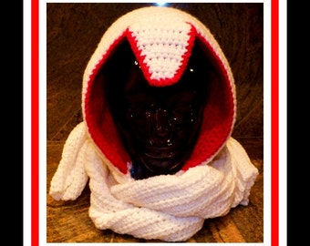 Super Easy Assassins Scarf and Hoodie Pattern©