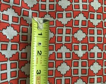 Polyester Double Knit Fabric Yardage Retro Clothing