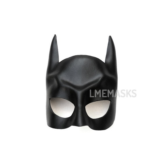 Batman leather mask for children and adults Bat Half Face Mask Super hero Halloween Costume Masquerade Carnival Party Superheroes Cosplay