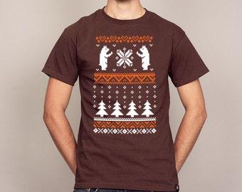 Christmas Bear Ugly Christmas Sweater T-shirt