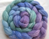Merino/Bamboo Roving (Combed Top) 4 oz.  Hand Painted.