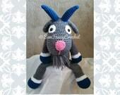 Goat, Stuffed Goat, Crochet Goat, Crochet Stuffed Animal, Farm Animal, Stuffed Farm Animals, Crochet Farm Animals, Farm Toys, Toy Animals