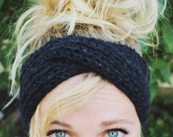 Turban Style Knitted Heawrap