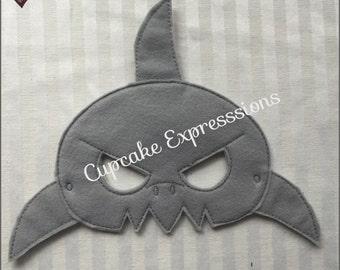 Dress Up Play Mask - Shark - Kids Costume, Pretend Play, Imaginative Play, Cosplay Ocean Animal Sea Preditor